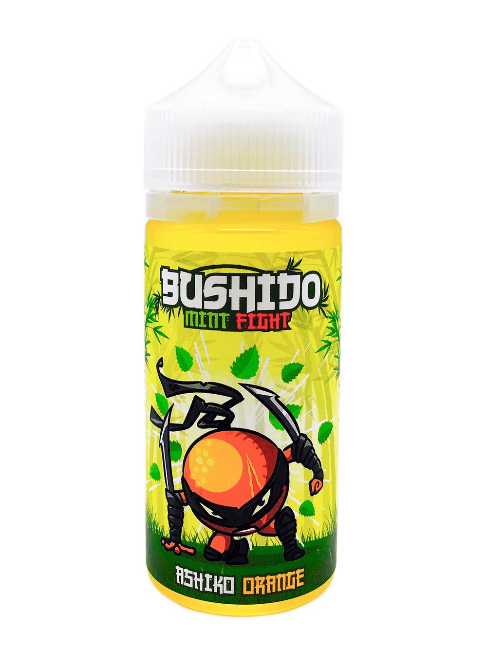 BUSHIDO MINT FIGHT: ASHIKO ORANGE 100ML 3MG