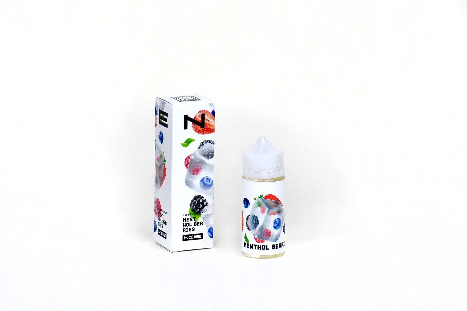 NICE BY URBN: MENTHOL BERRIES 95ML 0MG