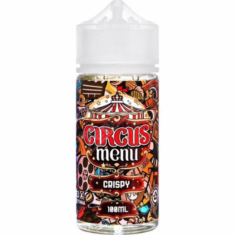 CIRCUS MENU BY COTTON CANDY - CRISPY 100ML 0MG