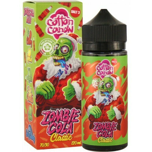 ZOMBIE COLA BY COTTON CANDY - CLASSIC 120ML 0MG