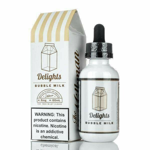 THE MILKMAN : DELIGHTS BUBBLE MILK 60ML 3MG