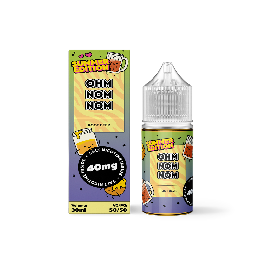 OHMNOMNOM SUMMER EDITION: ROOT BEER SALT 30ML 40MG