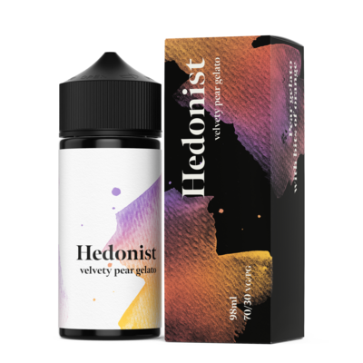HEDONIST BY ELTHUNDER: VELVETY PEAR GELATO 98ML 0MG