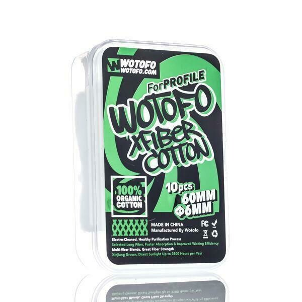 WOTOFO: X FIBER COTTON