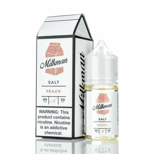 THE MILKMAN SALT: PEACH 30ML 40MG