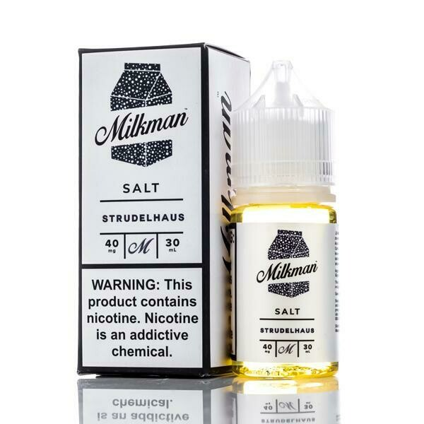 THE MILKMAN SALT: STRUDELHAUS 30ML 40MG