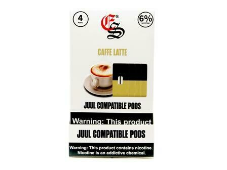 EONSMOKE PODS FOR JUUL: CAFFE LATTE