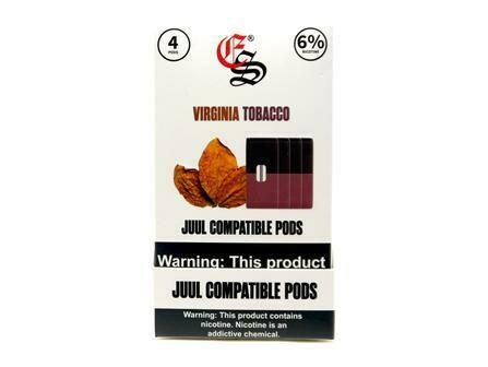 EONSMOKE PODS FOR JUUL: VIRGINIA TOBACO