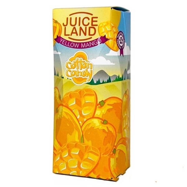 JUICELAND BY COTTON CANDY: YELLOW MANGO 100ML 0MG