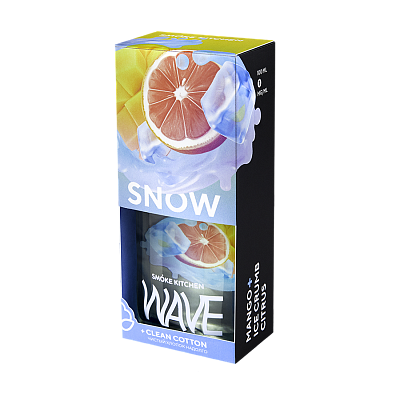 SMOKE KITCHEN WAVE: SNOW WAVE 100ML 3MG