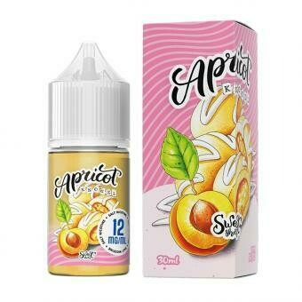 SWEET SHOTS BY ELTHUNDER SALT: APRICOT KNODEL 30МЛ 45MG
