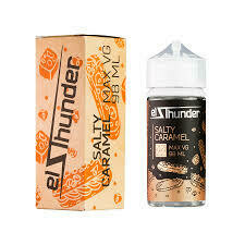EL THUNDER: SALTY CARAMEL 98ML 0MG