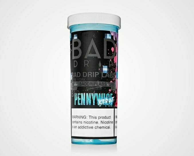 BAD DRIP: PENNYWISE ICED OUT 60ML 0MG