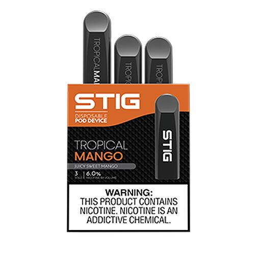 STIG POD BY VGOD: TROPICAL MANGO 60MG