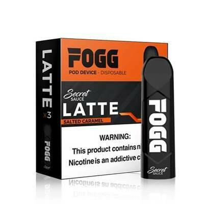 FOGG SECRET SAUCE POD: LATTE 50 MG