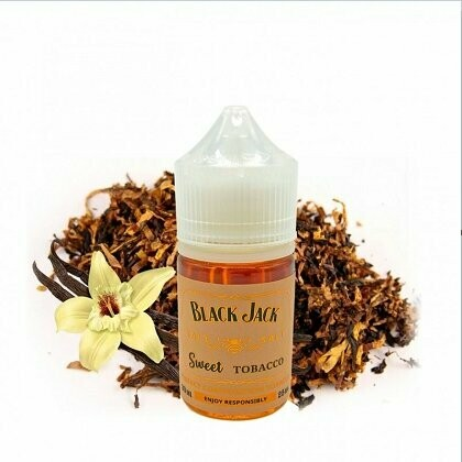 BLACK JACK BY INTRUE LAB: SWEET TOBACCO 30ML 25MG