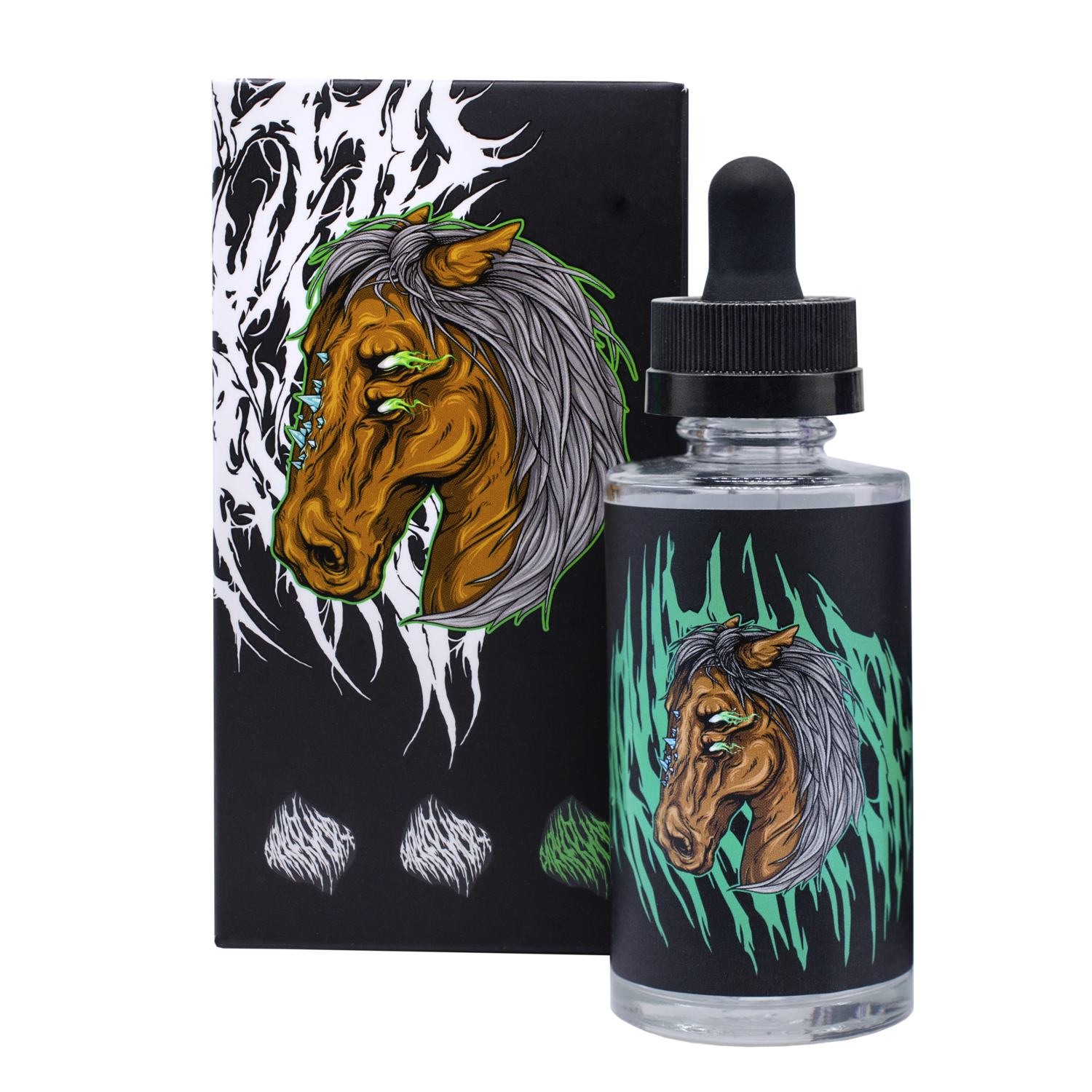DOCTOR GRIMES: DARKER HORSE 60ML 0MG