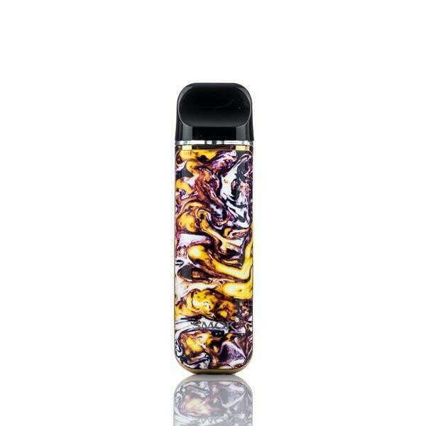 SMOK NOVO 2 POD KIT: YELLOW AND PURPLE