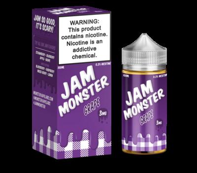 JAM MONSTER: GRAPE 100ML 3MG