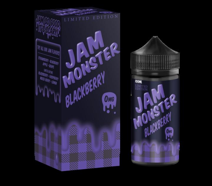 JAM MONSTER: BLACKBERRY 100ML 3MG
