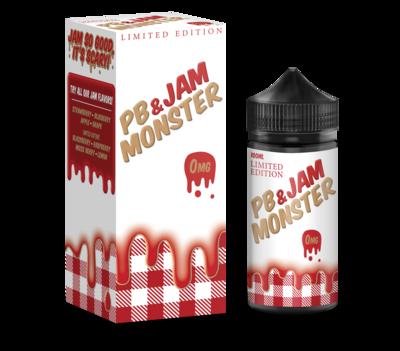 JAM MONSTER PB & JAM: STRAWBERRY 100ML 3MG