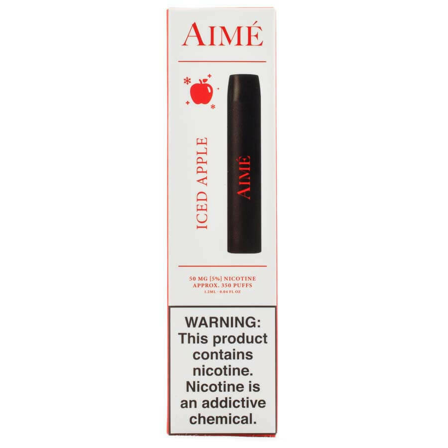 AIME DISPOSABLE POD: ICED APPLE 50MG