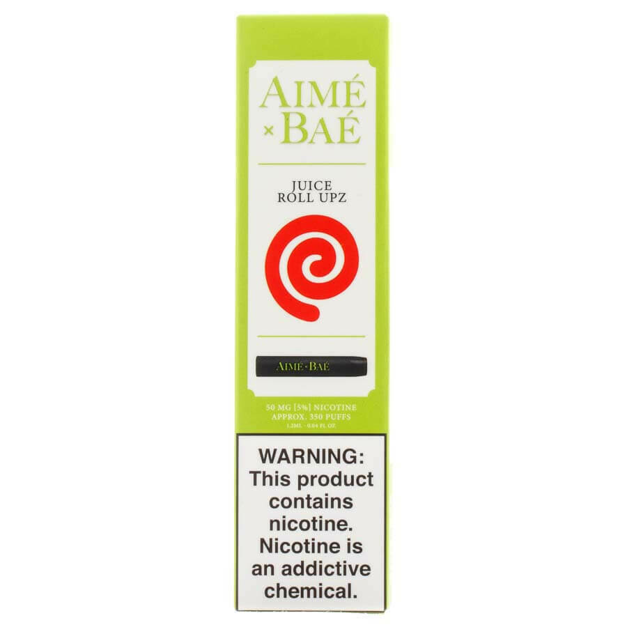 AIME X BAE DISPOSABLE POD: JUICY ROLL UPZ 50MG