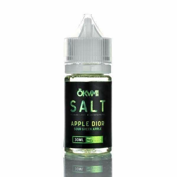 OKVMI SALT: APPLE DIOR 30ML 25MG
