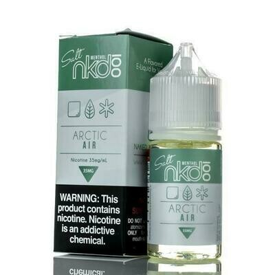 NAKED 100 SALT: ARCTIC AIR 30ML 35MG