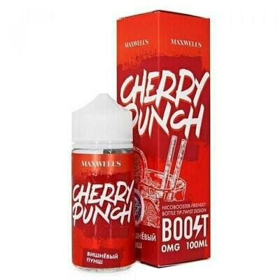 MAXWELLS: CHERRY PUNCH 100ML 0MG
