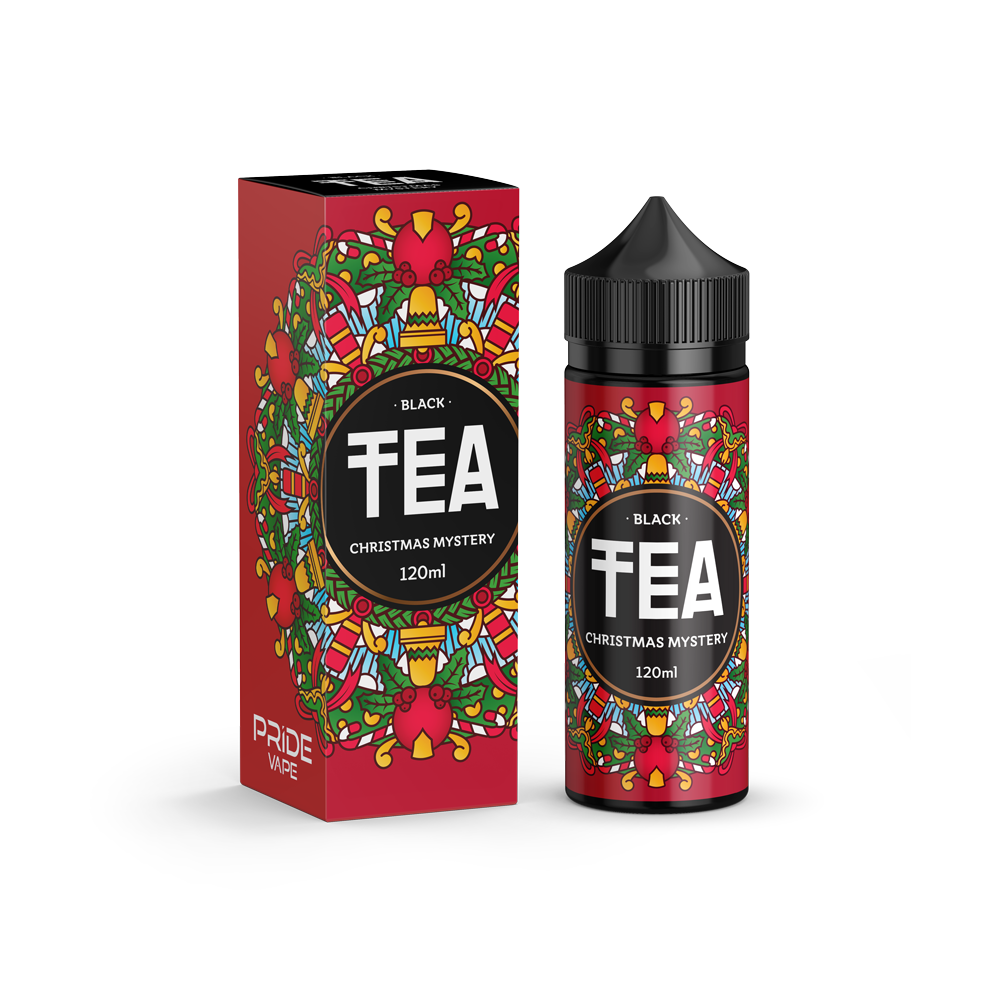 TEA BLACK: CHRISTMAS MYSTERY 120ML 0MG