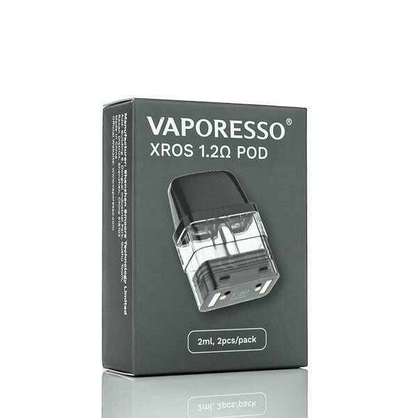VAPORESSO XROS CARTRIDGE: 1.2 OHM 2ML