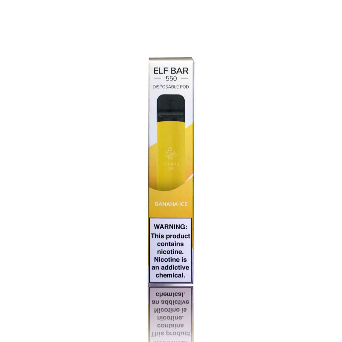 ELF BAR 550: BANANA ICE