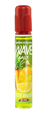 WAVE SALT BY SMOKE KITCHEN: CITRUS 30ML 20MG ULTRA