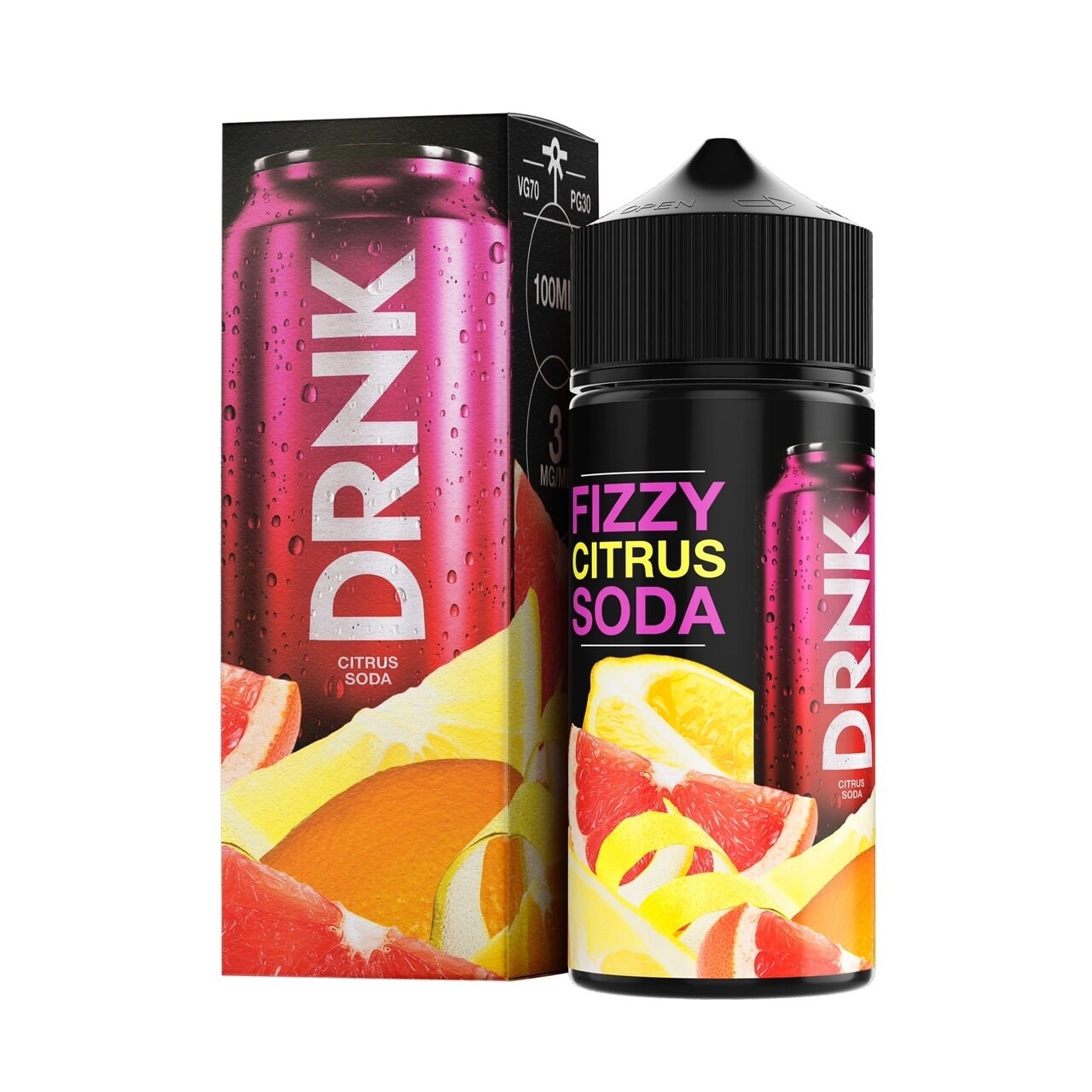 DRINK: FIZZY CITRUS SODA 100ML 3MG