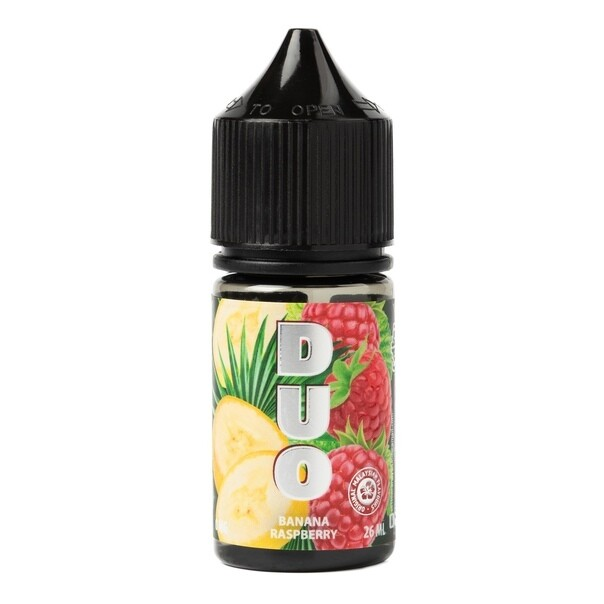 DUO SALT BY COTTON CANDY: BANANA RASPBERRY 30ML 20MG STRONG