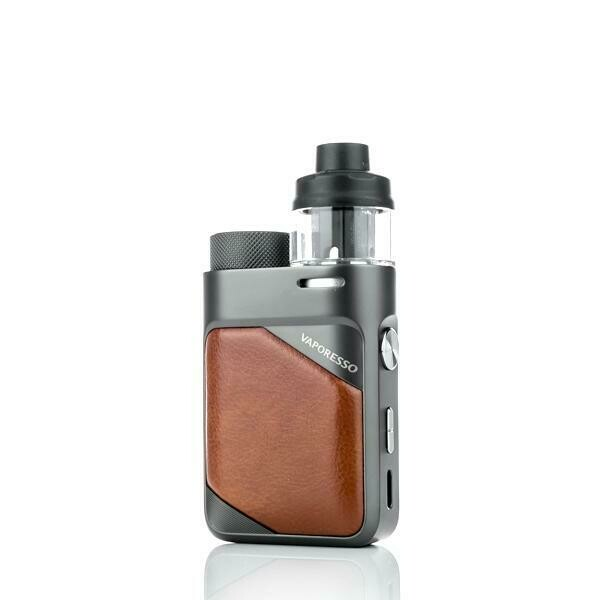 VAPORESSO: SWAG PX 80 LEATHER BROWN