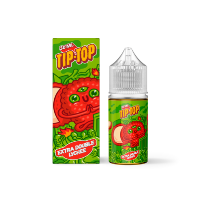 TIP TOP: EXTRA DOUBLE LYCHEE30ML 20MG STRONG