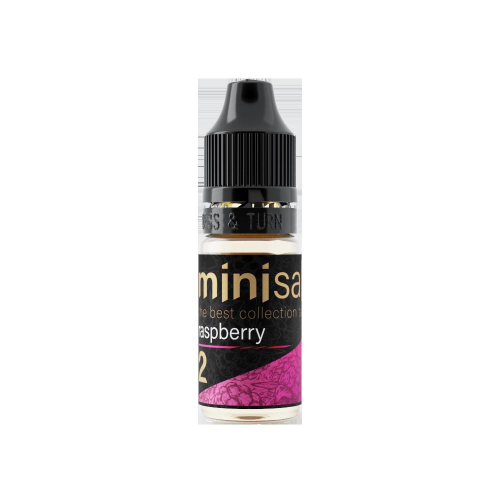 MINI SALT BY PRIDEVAPE: RASPBERRY 10ML 20MG