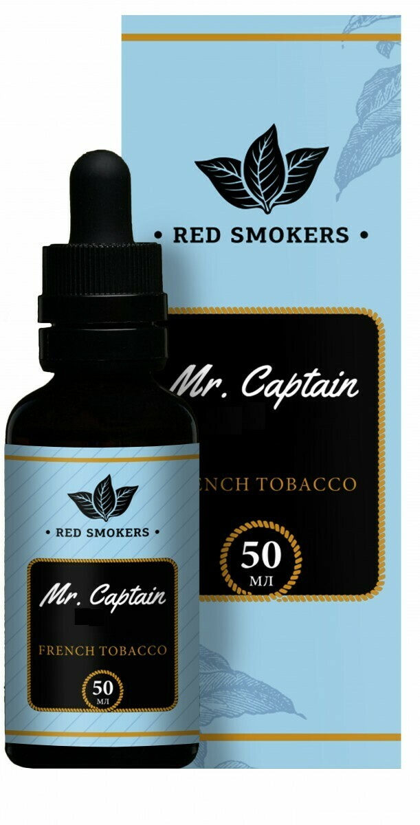 MR CAPTAIN BLACK: FRENCH TOBACCO 50ML 6MG