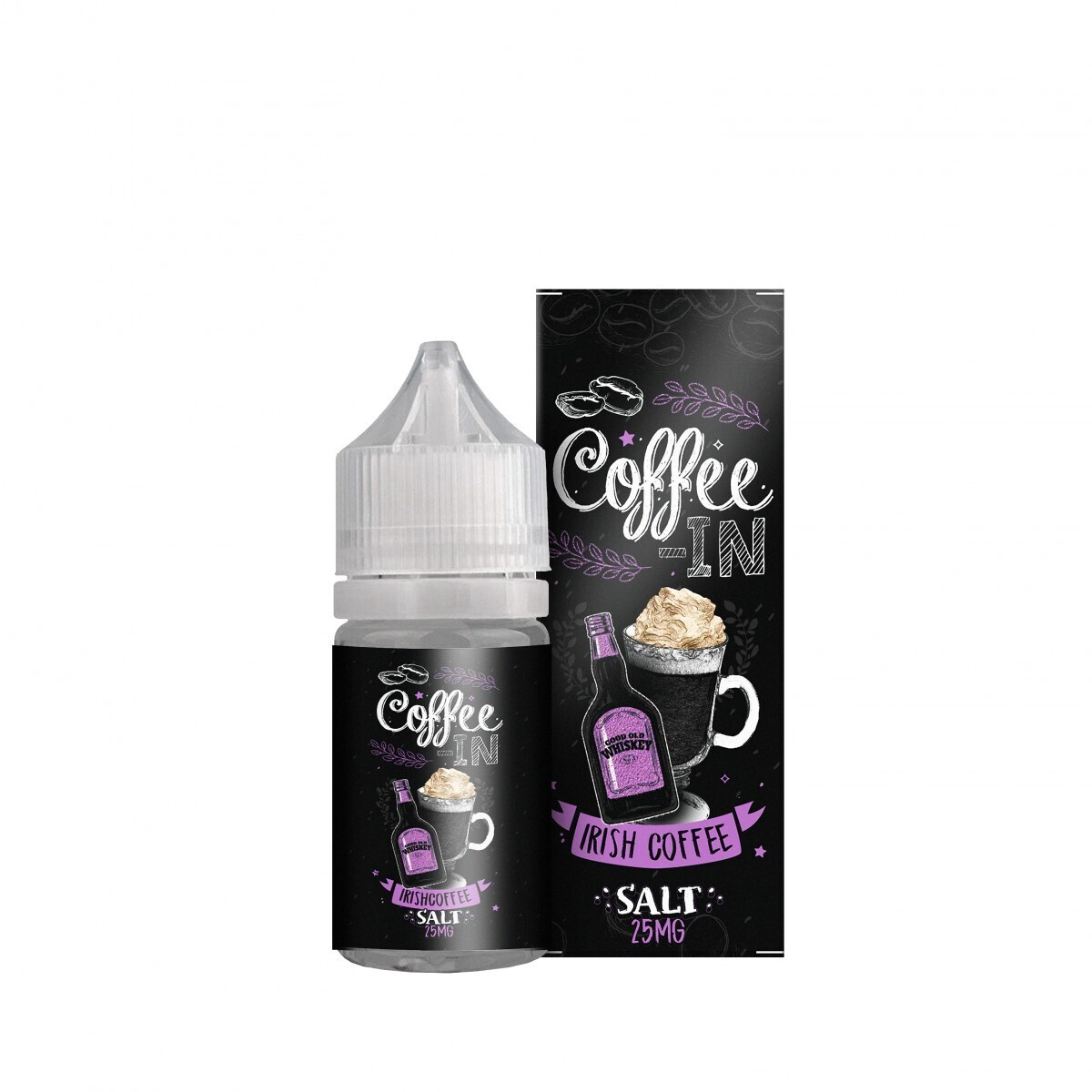 COFFE-IN SALT: IRISH 20MG STRONG
