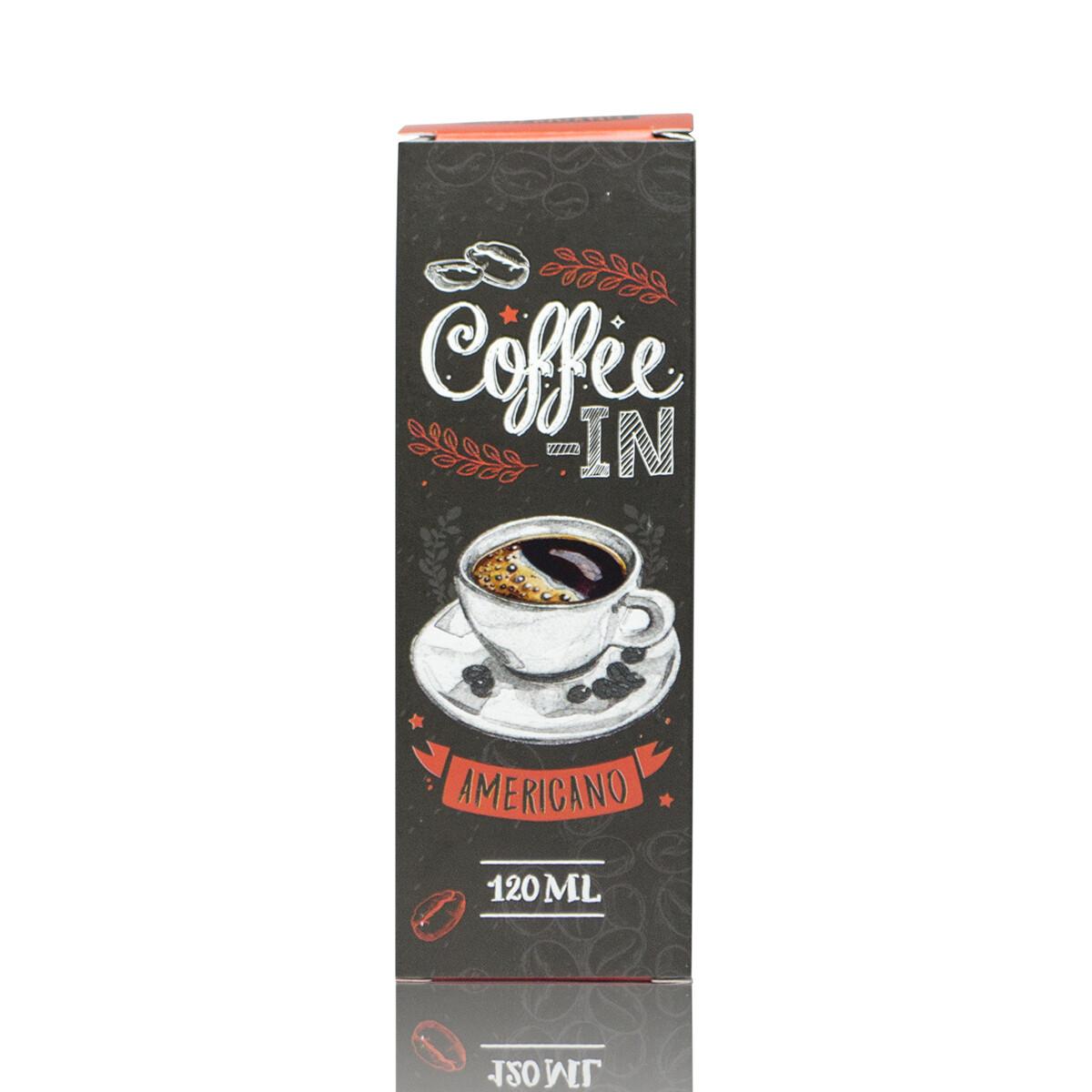 COFFE-IN: AMERICANO 120ML 3MG