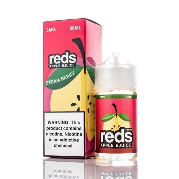 7 DAZE REDS: APPLE STRAWBERRY 60ML 0MG