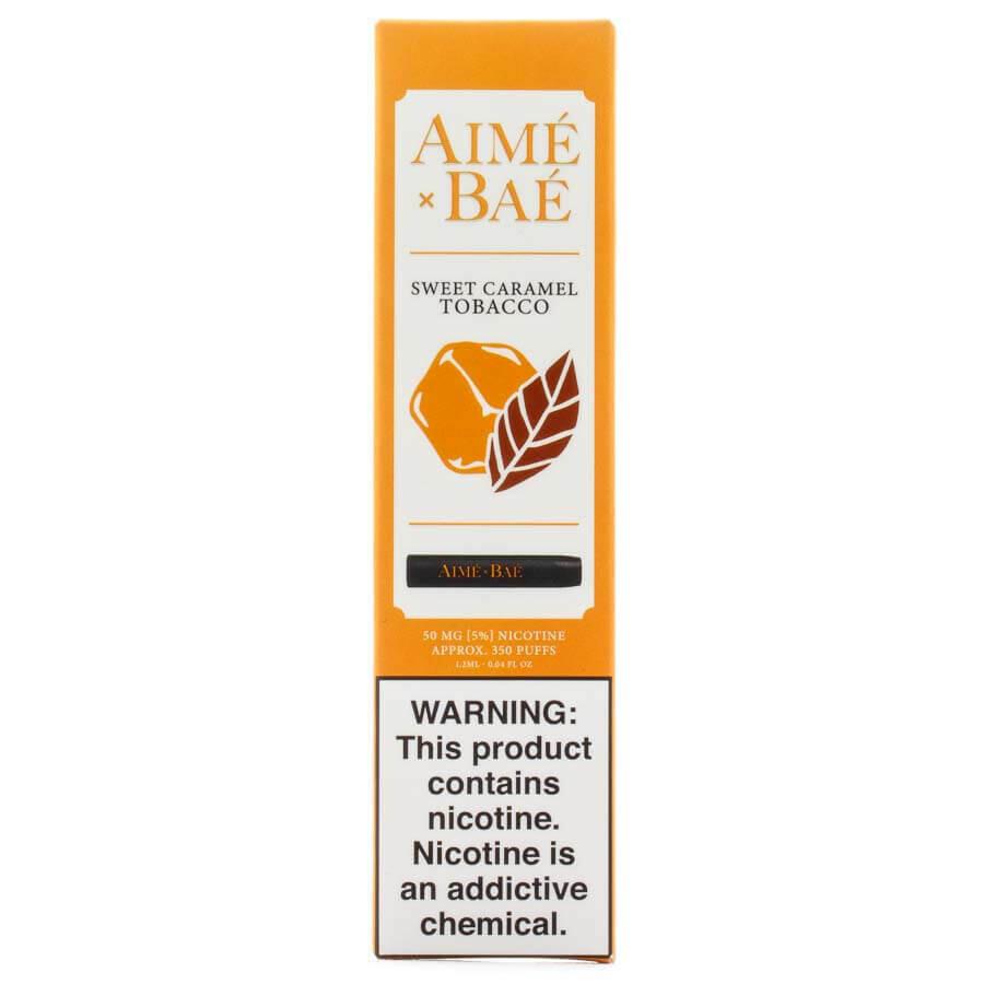 AIME X BAE DISPOSABLE POD: SWEET CARAMEL TOBACCO 50MG