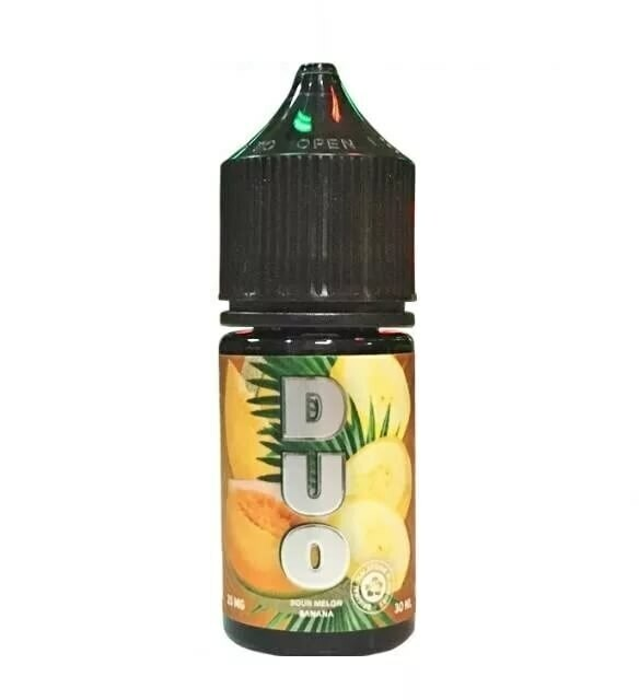 DUO SALT BY COTTON CANDY: SOUR MELON BANANA 30ML 20MG STRONG