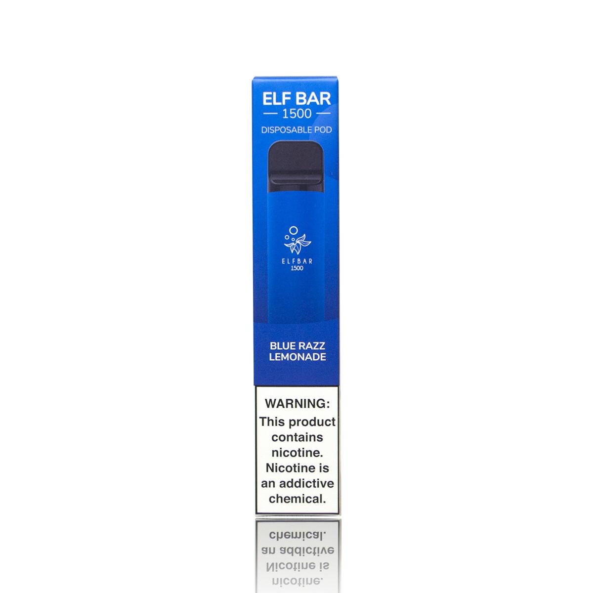 ELF BAR 1500: BLUE RAZZ LEMONADE