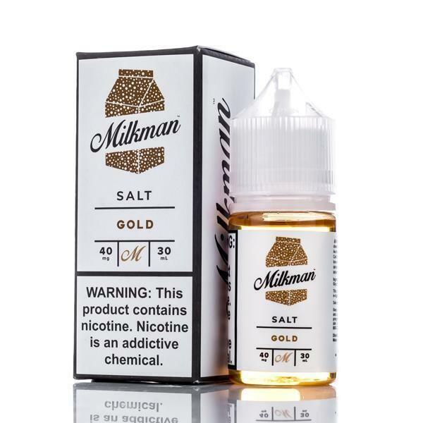 THE MILKMAN SALT: GOLD 30ML 40MG