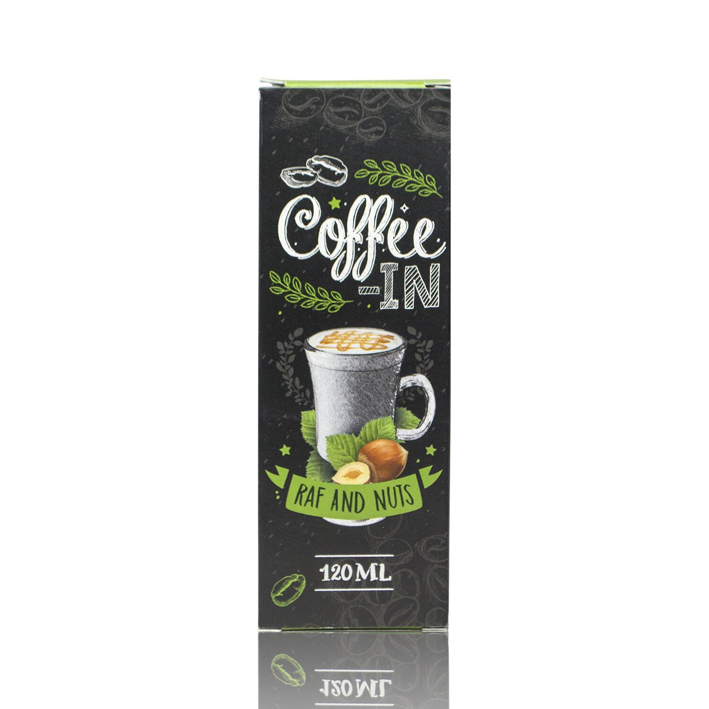 COFFE-IN: RAF NUTS 120ML 3MG