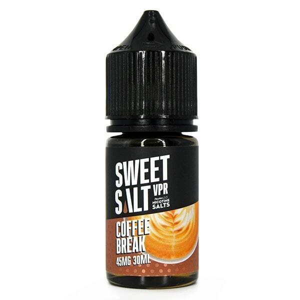SWEET SALT: COFFE BREAK 30ML 20MG STRONG