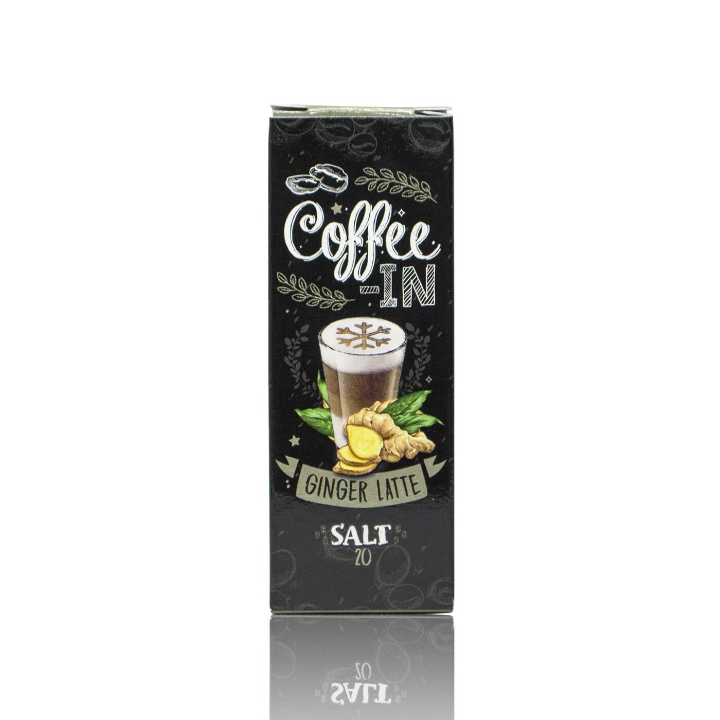 COFFE-IN SALT: GINGER LATTE 20MG
